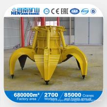 5 Kubikmeter Hydraulik Stahl Schrott Greifer
