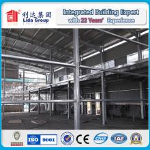 Dessin d'entrepôt structurel en acier pré-fabriqué