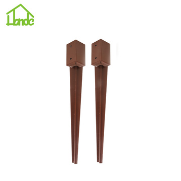 Powder Coated Fence Post Anchors
