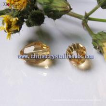 Neues Design Yiwu Factory vergoldet Farbe Kristall-Perlen
