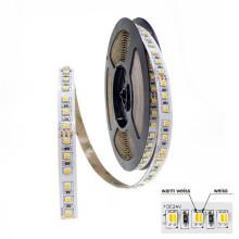 High CRI 90 SMD 5050 tunable white led strip 2700K to 6500K CCT Adjustable LED Strip Light