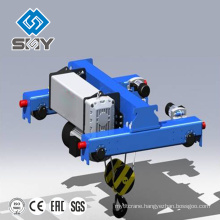 Double Twin Rails Wire Rope Hoist Electrical Equipment