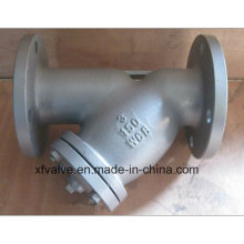 ANSI/150lb Cast Carbon Steel Wcb Flange/Flanged End Y Type Strainers