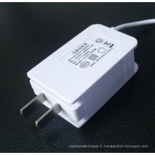 Adaptateur secteur 12V1a 9V 1A pour modem ADSL