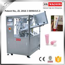 Máquina de llenado y sellado de tubo suave de pasta de cebolla con CE