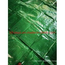 Waterproof Nice Green PE Tarpaulin Shelter