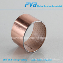 SF-2 oil lubricated bush ,POM coated lead free bronze bushing,wrapped copper plating bronze bush