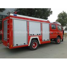 Tamaño eficiente del coche de bomberos, camión de bomberos de 3 toneladas para la venta
