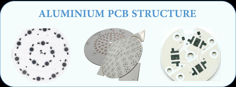 ALUMINIUM PCB STRUCTURE | JHYPCB