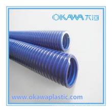 Manguera reforzada de PVC rígido para el drenaje de la piscina