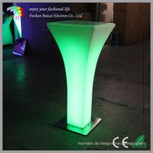 LED glühend Cocktail Tisch