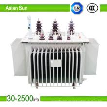 11kV Öl gekühlt Ölbad-Transformator (250kVA)