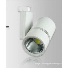 Regulable Epistar COB LED Track Light Luz al aire libre