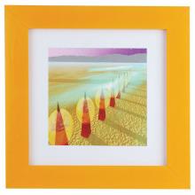 Orange Bilderrahmen mit hoher Qualität