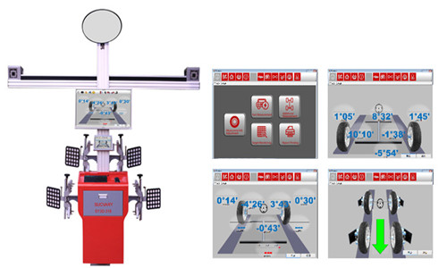3D Wheel Aligner Machine System