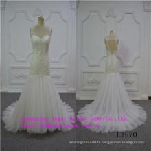 Robe de mariée de conception sexy