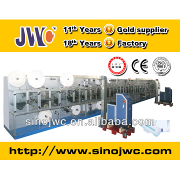 individual packing machine for sanitary napkins