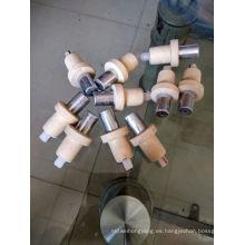 cabeza de termopar prescindible de calidad superior para fundición y fabricación de acero