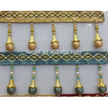 New Fashion Beaded Tassel Fringe for curtain Accessory