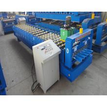 European Style Roofing Tile ISO Roof And Wall Panel Roll Forming Machine