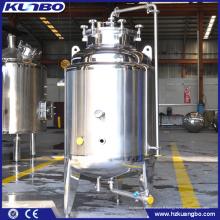 Bière en acier inoxydable KUNBO 50L-1000L servant des réservoirs lumineux