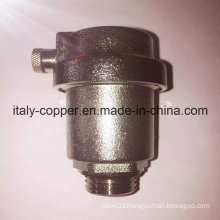 Nickel Plated Angle Type Air Vent Valve (IC-3038)