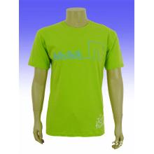 Custom Organic Pure Color Printed T Shirts
