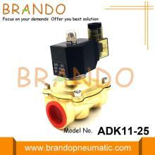 Vannes à diaphragme solénoïde pilote de type ADK11-25A CKD
