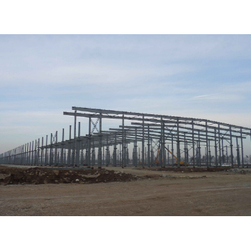 Galvanized Long Span Steel Structure Workshop Warehouse