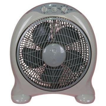 Ventilador de caixa de design redondo de 12/14 polegadas com temporizador de 2h (USBF-824)