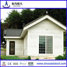 Nuevo diseño prefabricados Villa / Casa Villa / Villa con garaje / estructura de acero Casa