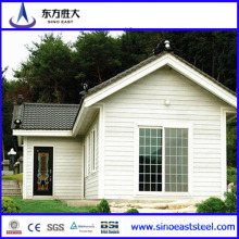 New Design Prefabricated Villa/House Villa/Villa with Garage /Steel Structure House