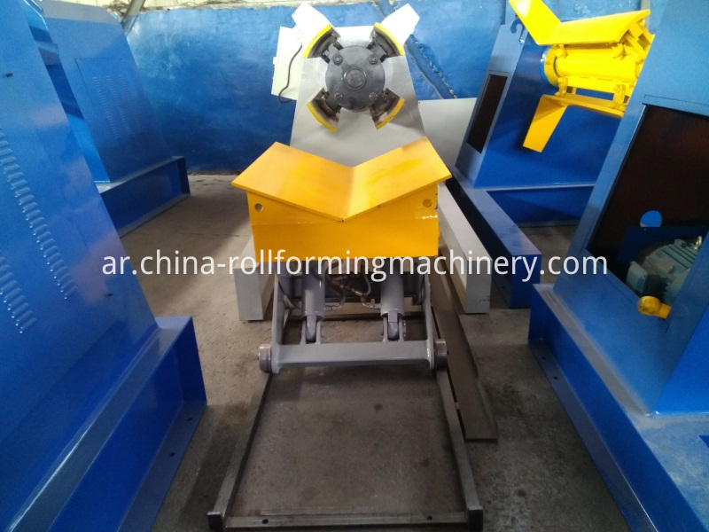 Coil Car Of Hydraulic Decoiler