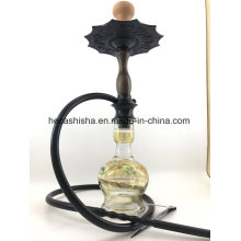 Garfield Style Top Quality Wood Nargile Smoking Pipe Shisha Hookah