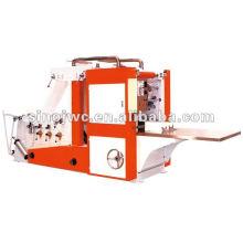 Guardanapo de tecido de caixa-tipo que faz a máquina (rotas dobro)