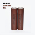 Genuine Lg hg2 18650 Battery 3.7v 3000mah