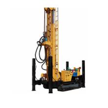 Plataforma de perforación, diesel de la plataforma de perforación del pozo de agua de la oruga