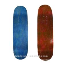 Высокое качество очистки клен пустой скейтборд оптом Великобритания