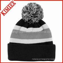 Promoção barato personalizado inverno quente malha chapéu