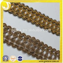 Золотая нить кисточка обрезная бахрома в наличии