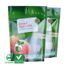 Fornecedor da China saco plástico com zíper para frutas secas