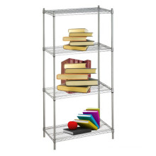 DIY Chrome Metal Wire Book Rack (CJ13535180A4C)