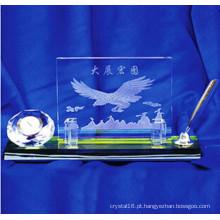 Titular de caneta de cristal Office Stationery Suporte de caneta de vidro cristal