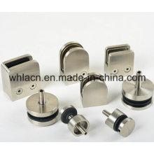 Soporte de vidrio para barandilla de escalera de acero inoxidable (Casting de precisión)