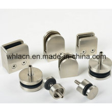 Stainless Steel Staircase Railing Glass Bracket (Precision Casting)