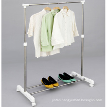 Stainless Steel Telescopic Single-Pole Clothes Hanger