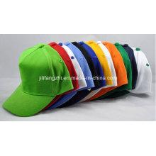 Chapeau promotionnel de vente chaude avec le casquette de baseball de broderie