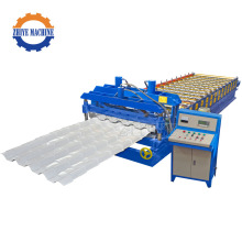 Step Roof Panel Glazed Roof Tile Making Machine