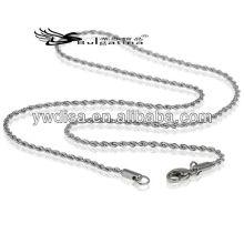 Collier de bijoux à la mode Chaîne à chaîne en acier inoxydable