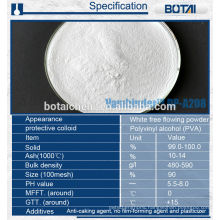 Redispersible polymer powder RDP for dry mortar